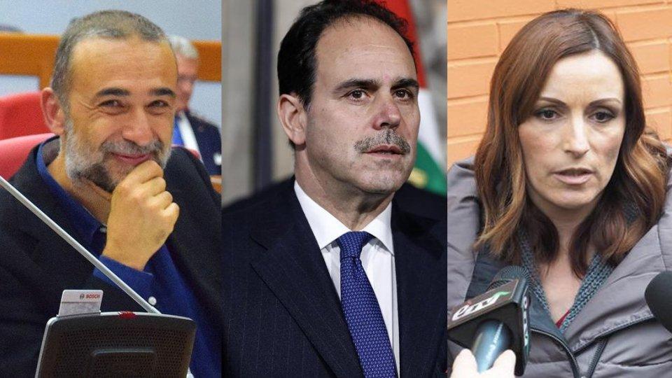 Andrea Bertani, Andrea Marcucci e Lucia Borgonzoni