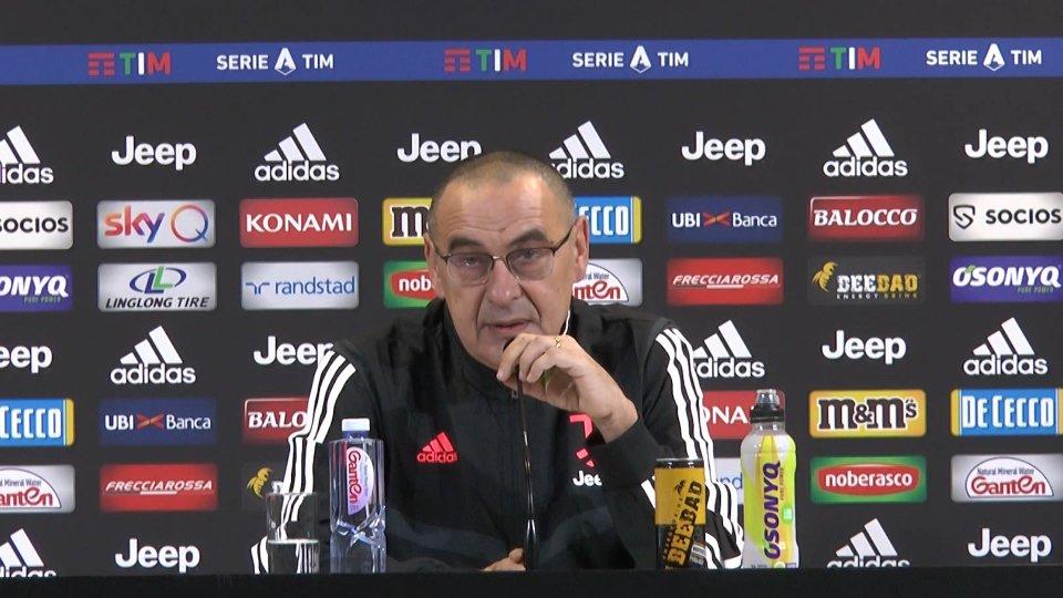 """Sarri: """" Con l'Atalanta è come andare dal dentista, si può uscirne bene ma con dolore"""""""