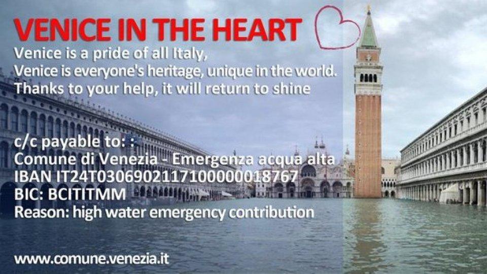 La Farnesina sostiene le iniziative di solidarietà avviate per Venezia