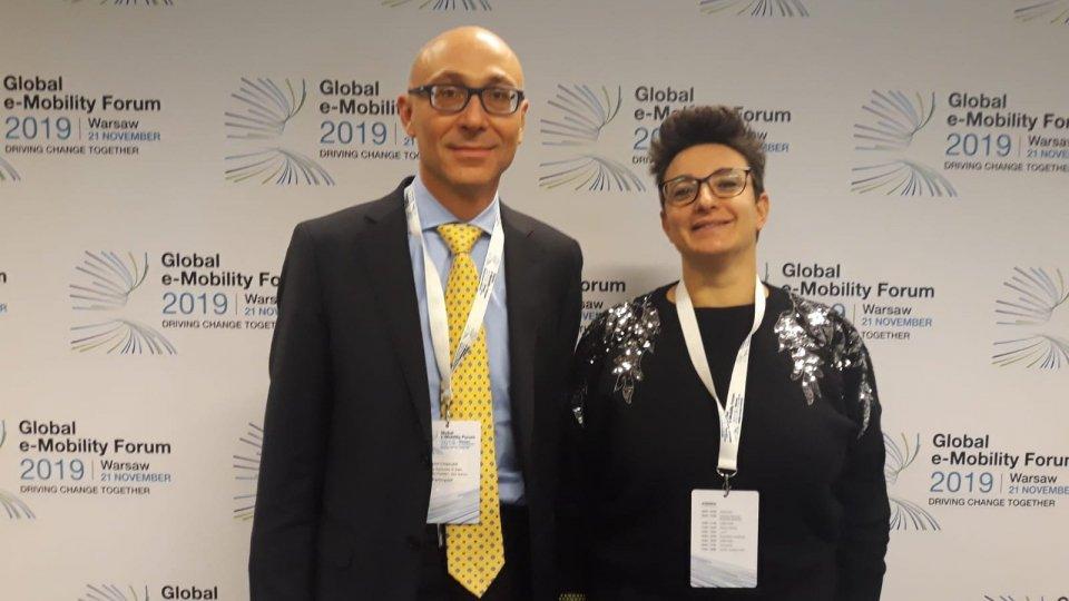 Anche San Marino al Global e-Mobility  Forum 2019 di Varsavia