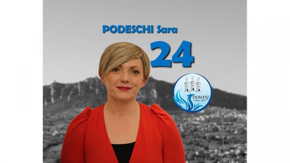 Sara Podeschi (Domani - Motus Liberi) su rifiuti e Centro Storico