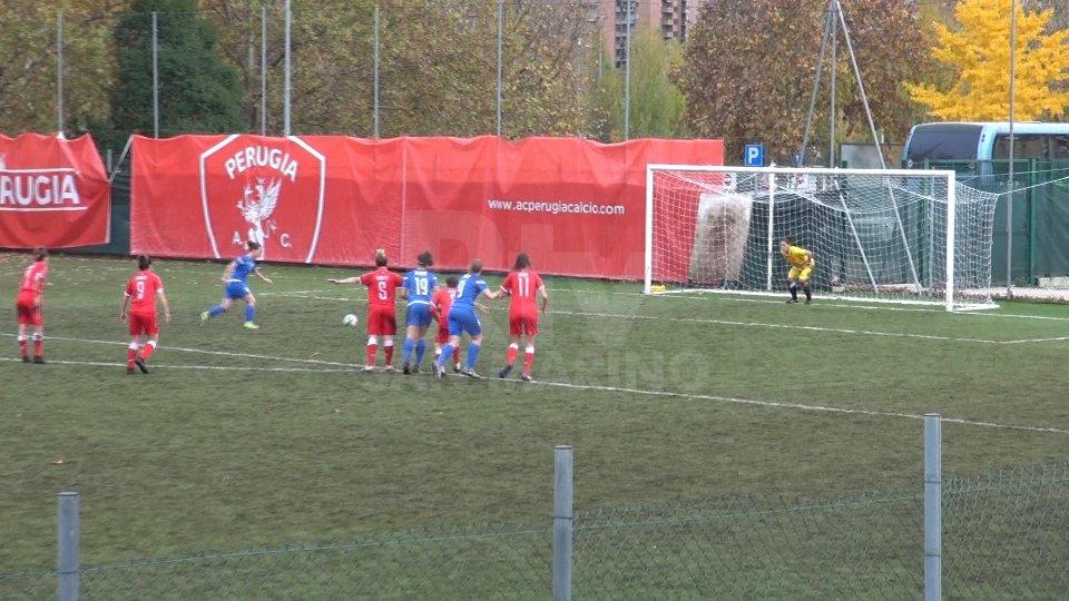Prosegue il magic moment della San Marino Academy che vince a Perugia per 5-0