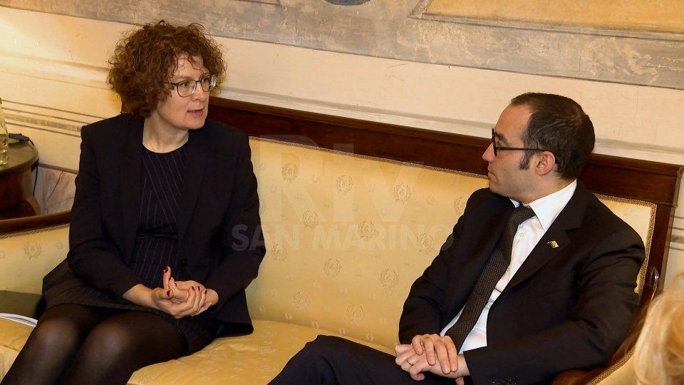 Nel video l'intervista all'ambasciatore di Svizzera in Italia ed a San Marino, Rita Adam.