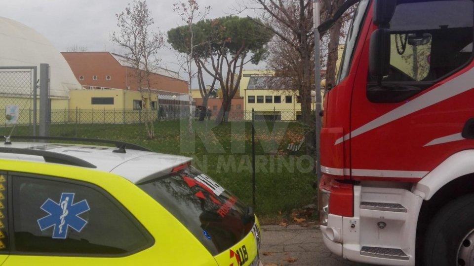 l'intervento a Villa Verucchio