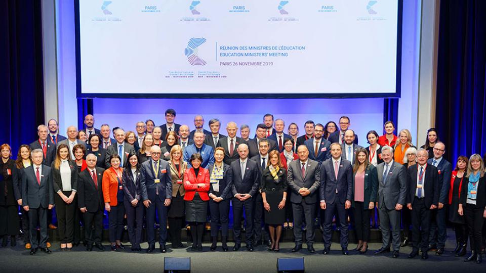 Segreteria Istruzione: Incontro dei ministri dell'educazione del Consiglio d'Europa