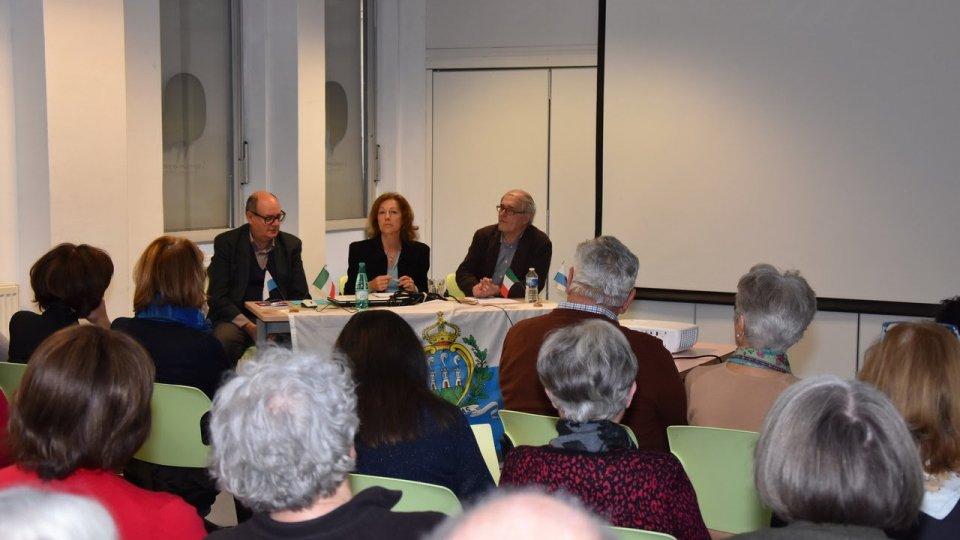 Conferenza su San Marino alla Dante Alighieri di Lione