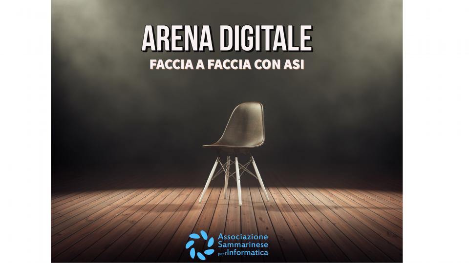 Arena Digitale - Faccia a Faccia con ASI
