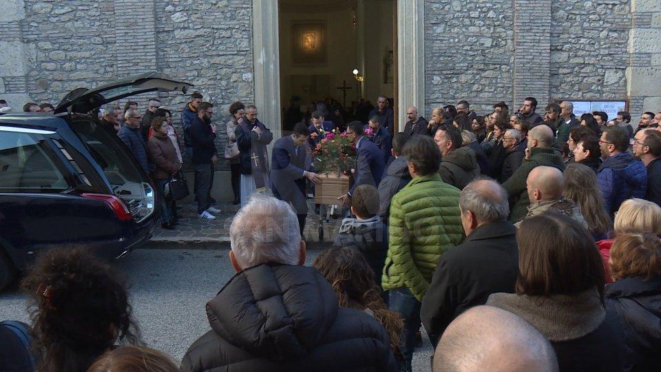 I funerali di Enea Bruschi