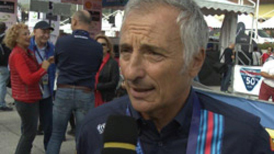 Riccardo PatreseRiccardo Patrese al Legend per i 50 anni di Martini Racing