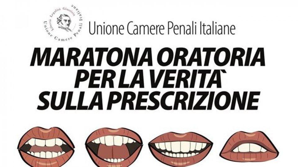 Scatta la 'maratona oratoria' dei penalisti contro la riforma della prescrizione