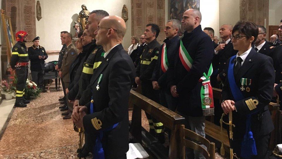 Festa di Santa Barbara – Capitaneria di porto e Vigili del Fuoco di Rimini celebrano la loro protettrice