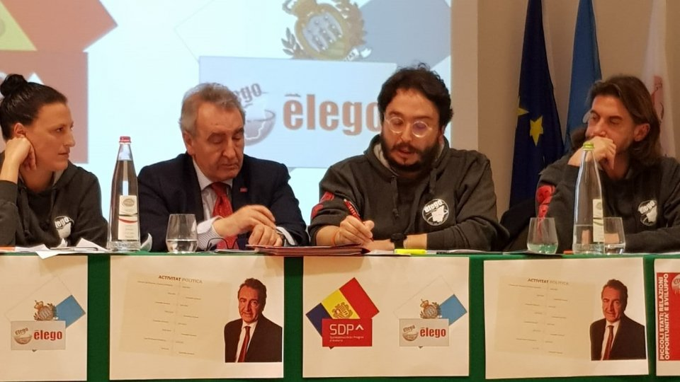 """Ēlego, Jaume Bartumeu: """"Serve una strategia negoziale per rafforzare le relazioni di San Marino e Andorra con l'Unione Europea"""""""