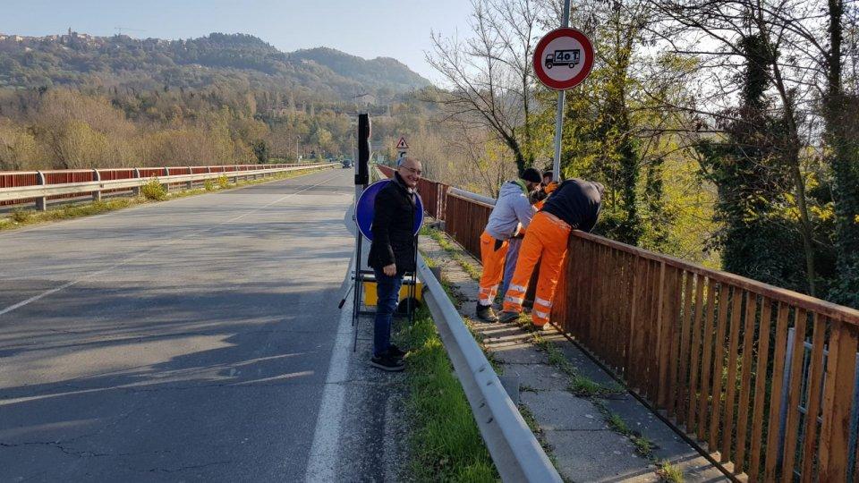 Ponte Verucchio: decisi gli interventi di messa in sicurezza