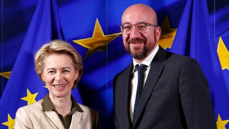 Ursula von der Leyen e Charles Michel