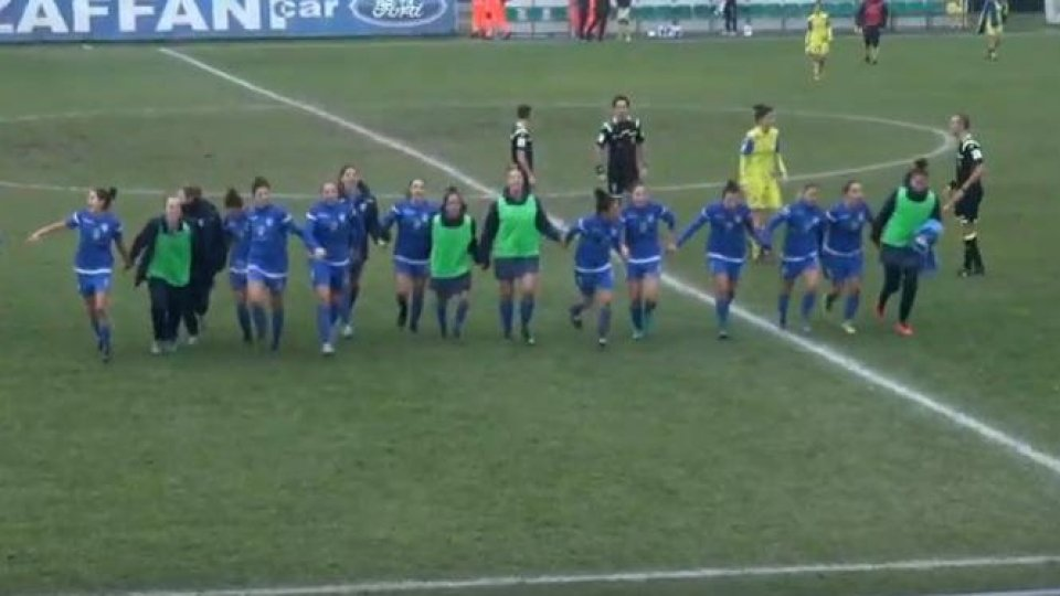 Femminile: San Marino da serie A, battuto il Chievo al 94'