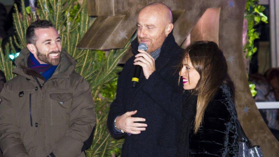 Rudy Zerbi vive il suo sogno al Natale delle Meraviglie di San Marino