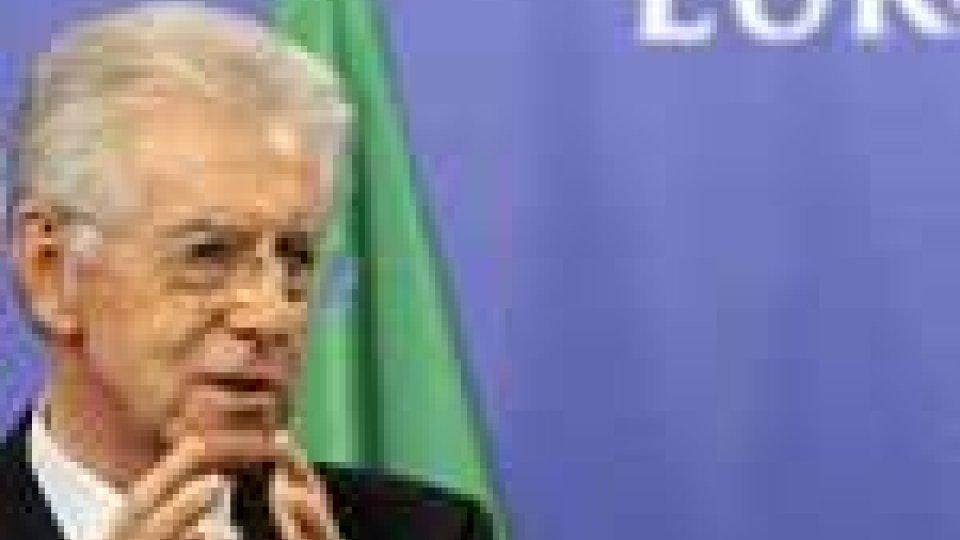 Parte il tour europeo del premier Mario Monti da ieri a Bruxelles