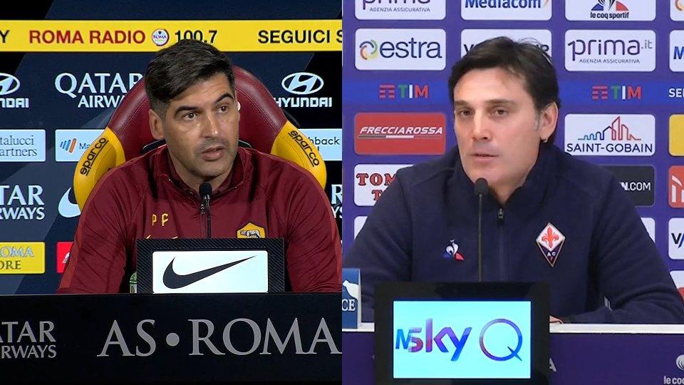 Intervista a Paulo Fonseca e Vincenzo Montella