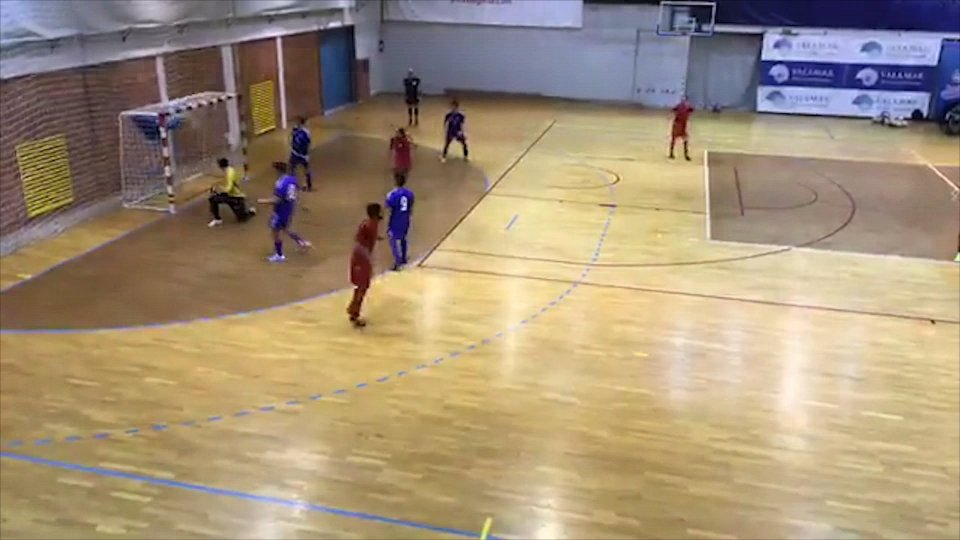 Mattioli e Righi, due gol per San Marino nella Futsal Week Winter Cup