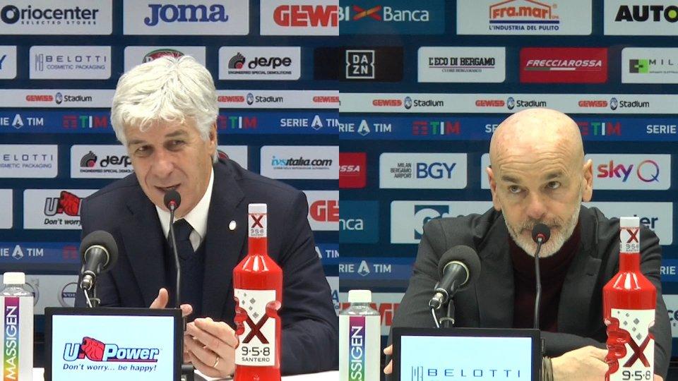 Interviste a Gian Piero Gasperini e Stefano Pioli