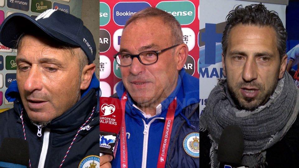 Fabrizio Costantini, Franco Varrella e Roberto Cevoli