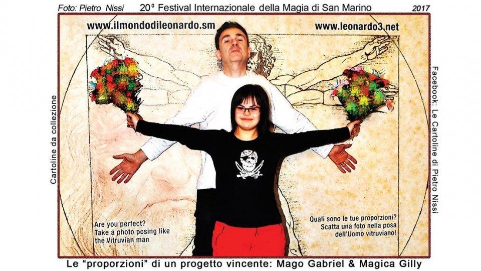 San Marino in cartolina con il suo festival della magia