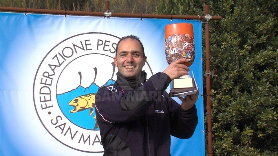 Pesca: Michele Moroni ha vinto il Memorial Casali