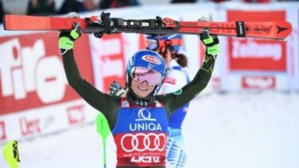 Sci: cdm donne; a Lienz nuovo trionfo in slalom per Shiffrin. Nel fondo Pellegrino secondo