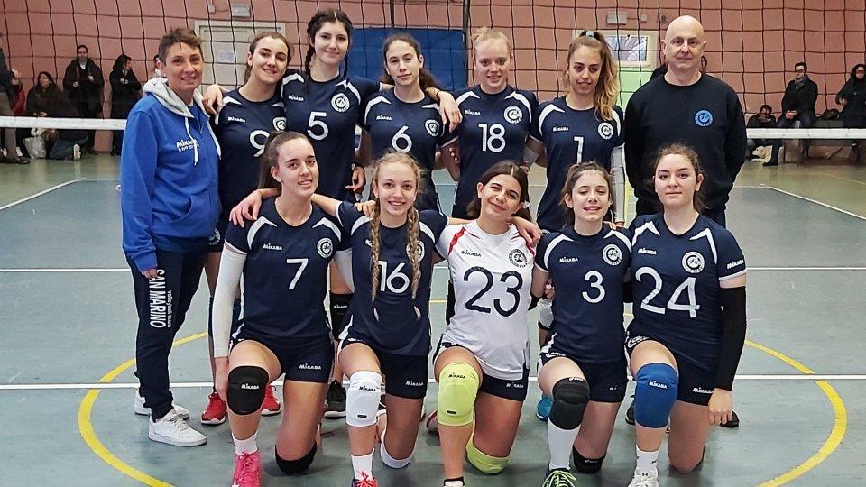Volley. Nazionali giovanili, che brava l'under 16 femminile nell'Anderlini