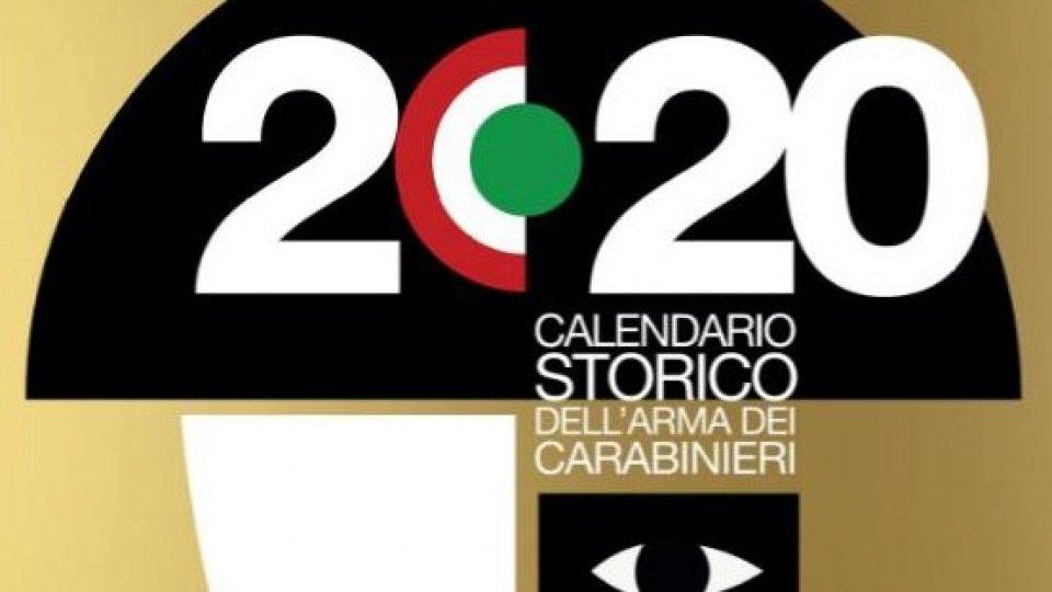 Carabinieri: il calendario 2020 raccontato a ciechi e ipovedenti
