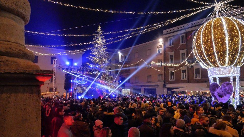 """Capodanno Rimini: """"abbattuto ogni primato di pubblico"""""""