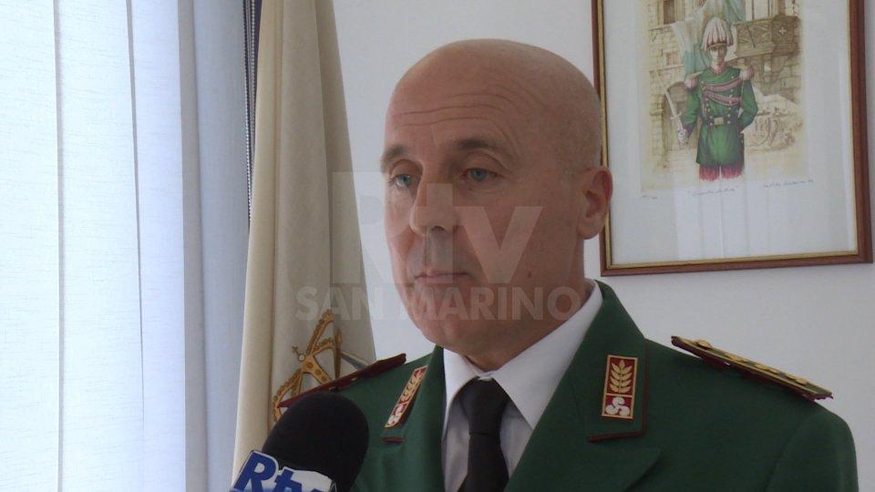 Il comandante della Guardia di Rocca Massimo CeccoliIl comandante della Guardia di Rocca Massimo Ceccoli