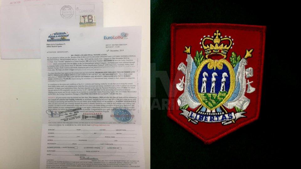 """Guardia di Rocca: """"Attenzione ad una lettera che arriva dalla Spagna"""""""