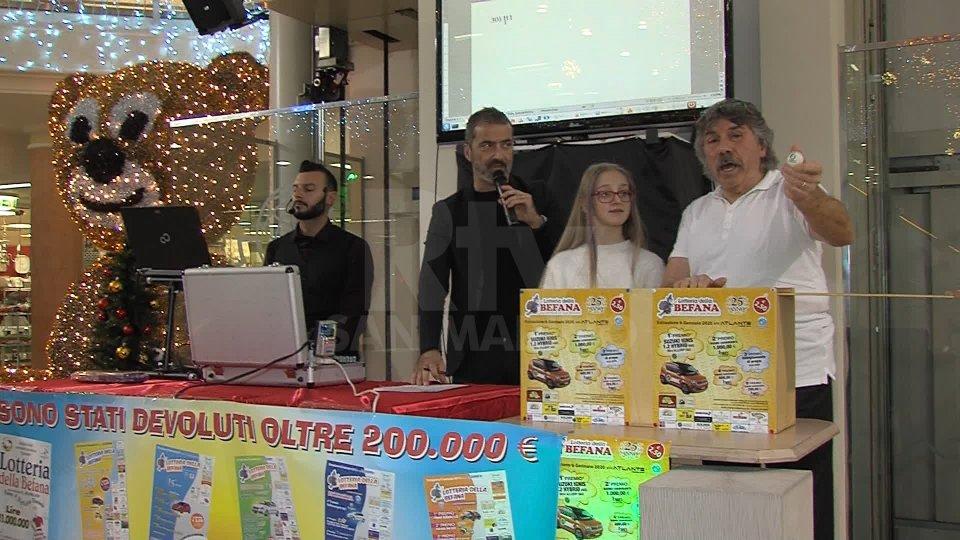 Lotteria Befana della Federazione Sport Speciali, i biglietti vincenti