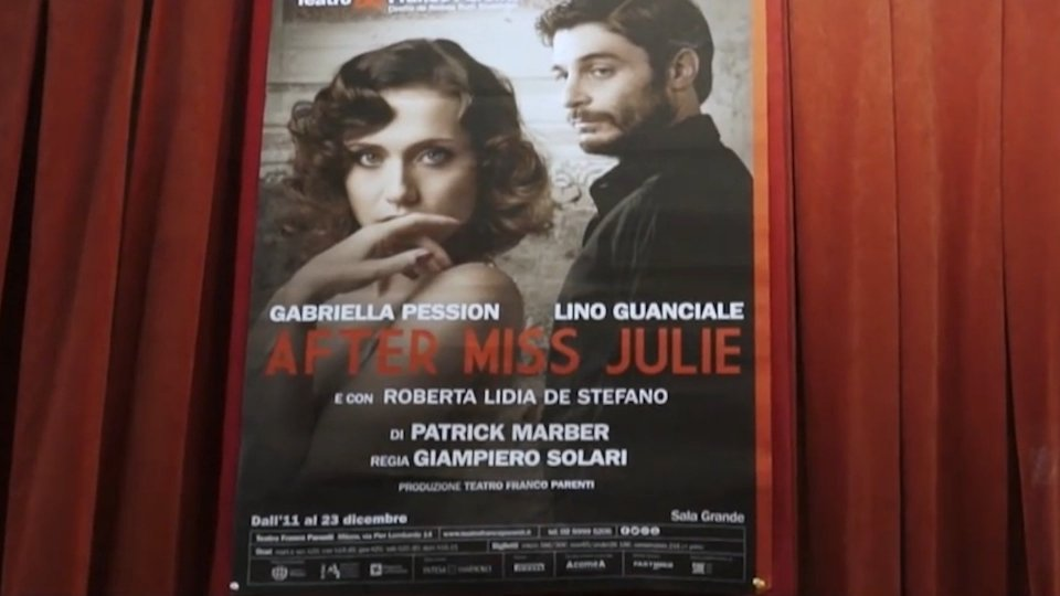 """After Miss Julie"" al Teatro Galli"