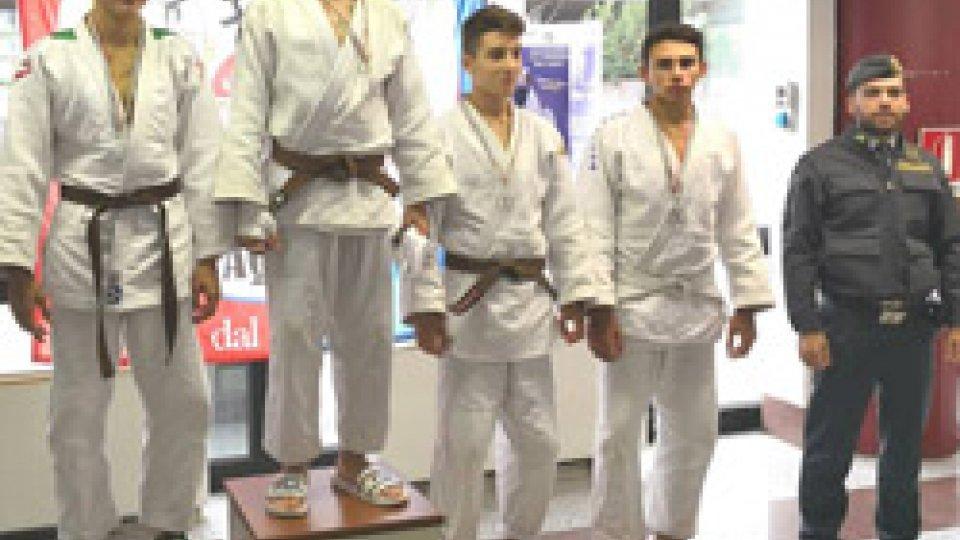 Federazione judo sammarinese: bronzo sammarinese nel Judo a L'Aquila - 20 e 21 ottobre 2018