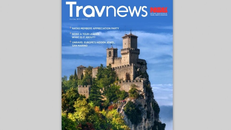 """San Marino sulla rivista di Singapore Travnews, """"gioiello nascosto d'Europa"""""""
