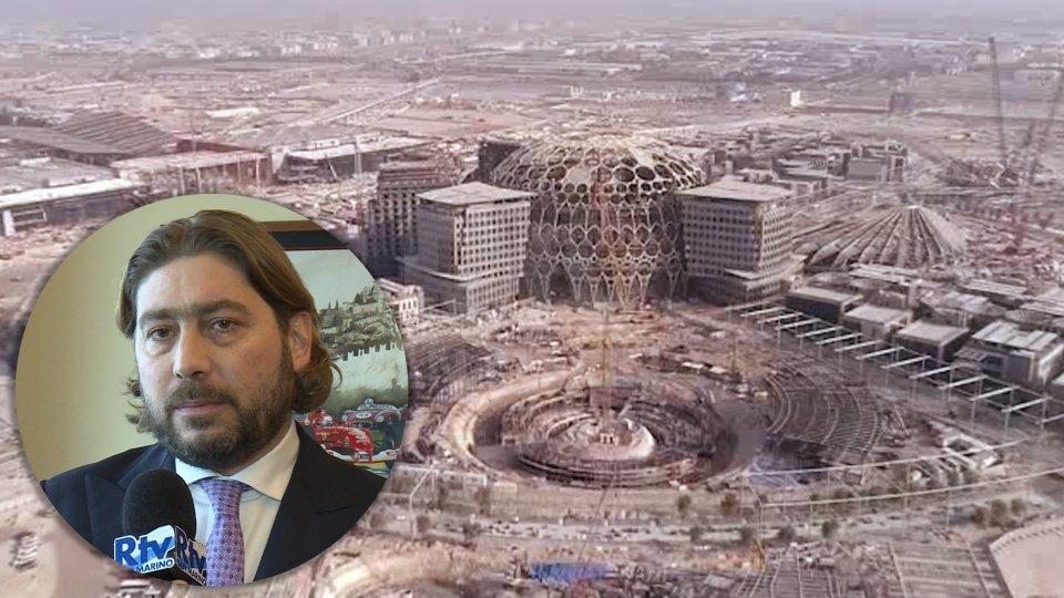 Nel servizio l'intervista a Federico Pedini Amati, Segretario di Stato per il Turismo e l'Expo