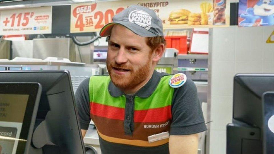 Burger King offre un lavoro a Harry