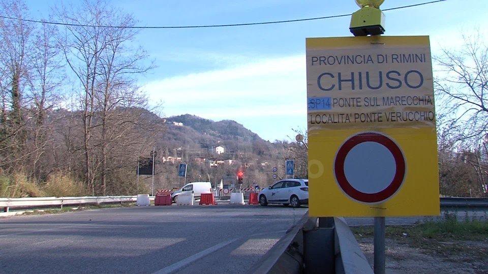 Ponte di Verucchio: domenica la riapertura