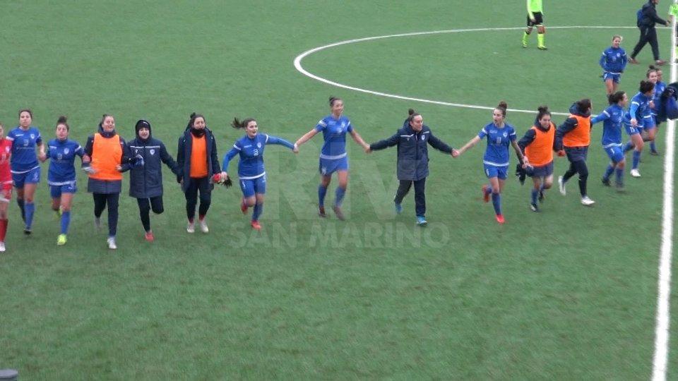 Femminile: la San Marino Academy campione d'invernoFemminile: la San Marino Academy campione d'inverno