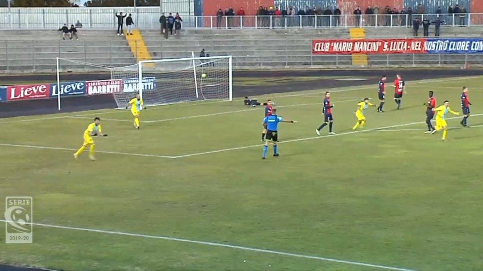 Gubbio - Arzignano  0-1