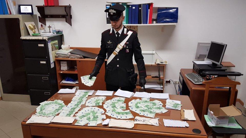 Saludecio: scoperta ingente somma di banconote false