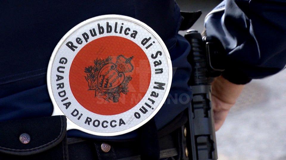 A Rovereta intervento della Guardia di Rocca (foto archivio)