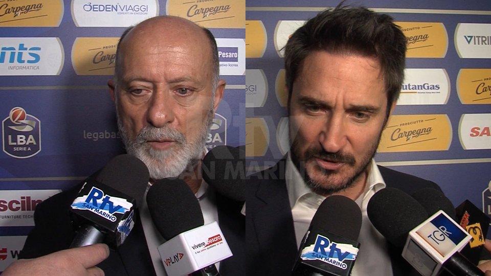 Interviste a Giancarlo Sacco e Gian Marco Pozzecco