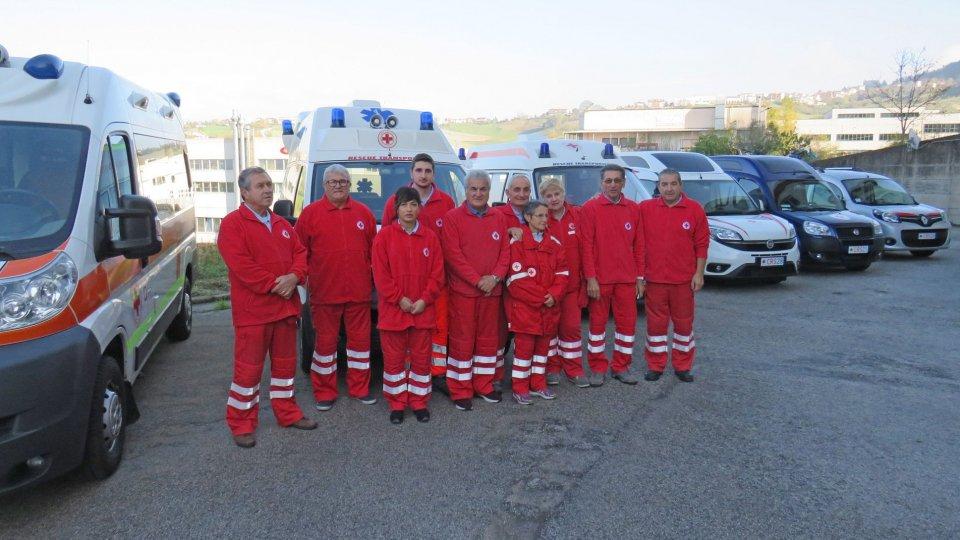 Croce Rossa Sammarinese: 11 tonnellate di merce per una casa di risposo per anziani indigenti