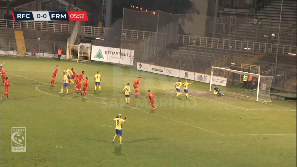 Ravenna-Fermana 1-0