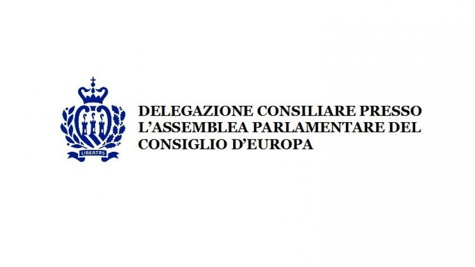 Delegazione Consiliare Sammarinese presso l'Assemblea Parlamentare del Consiglio d'Europa: partecipazione alla prima sessione 2020