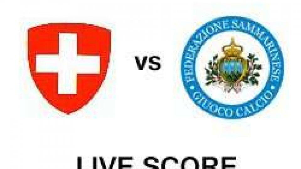 Svizzera-San Marino: Live score