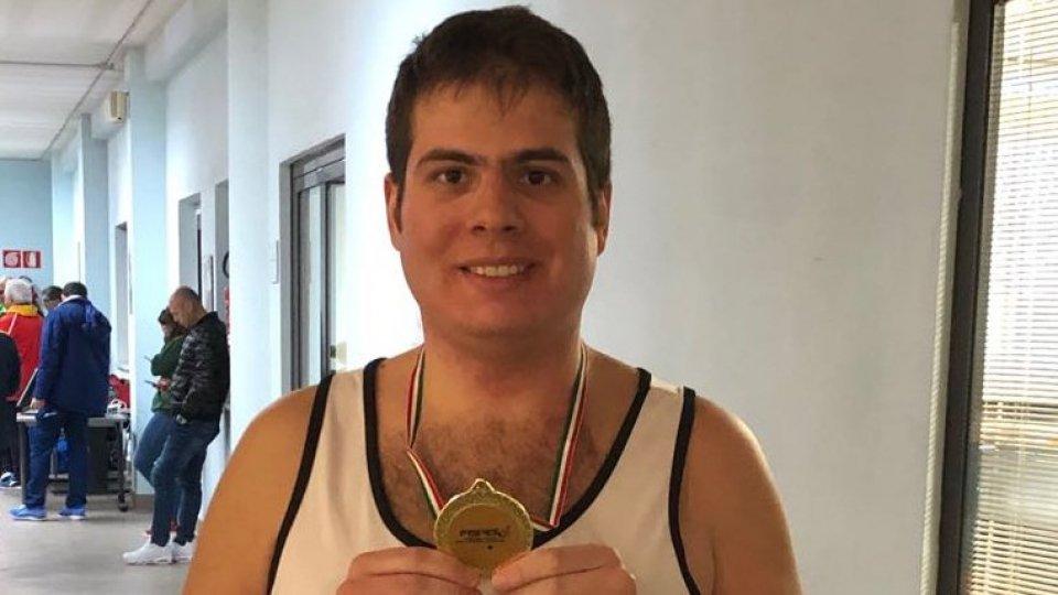 Marchetti d'oro nei 60 metri agli Italiani Indoor di atletica paralimpica di Ancona